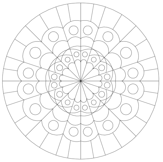 drawing mandala patterns