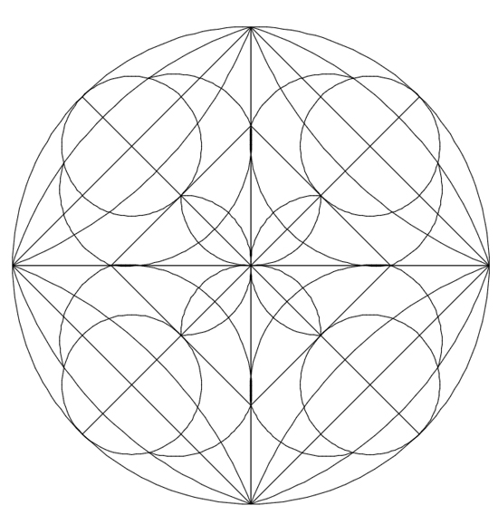 how to draw mandala step by step
