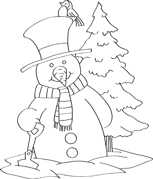 christmas drawing for kids