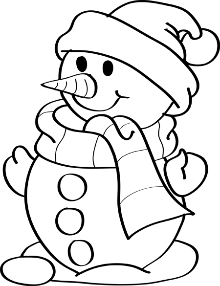 christmas line drawings