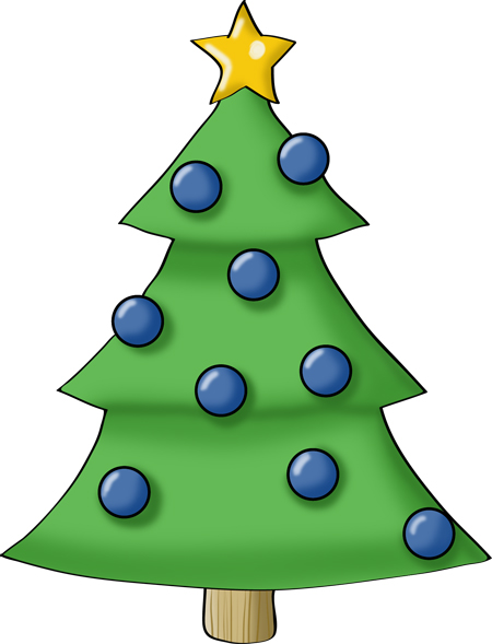 christmas tree drawing easy