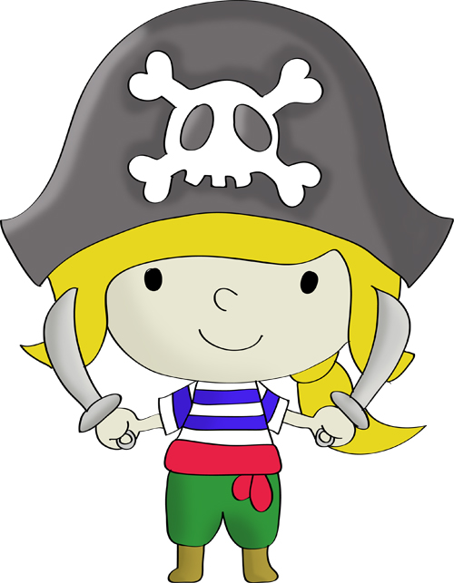 pirate hat drawing